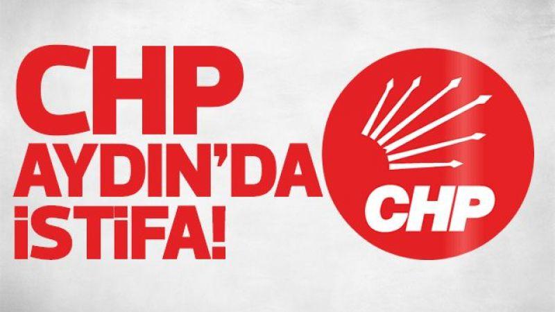 CHP Aydın'da istifa!