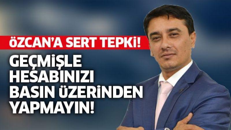 Kürşat Engin Özcan'a sert tepki!