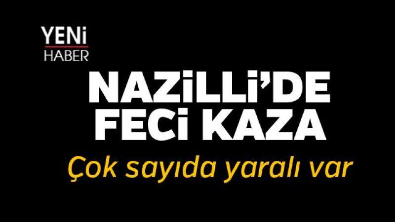 Nazilli Yolunda Feci Kaza!