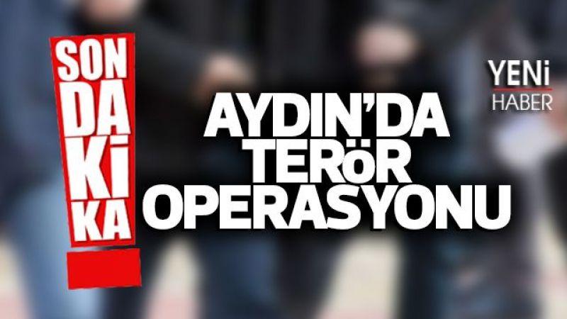 Aydın'da terör operasyon
