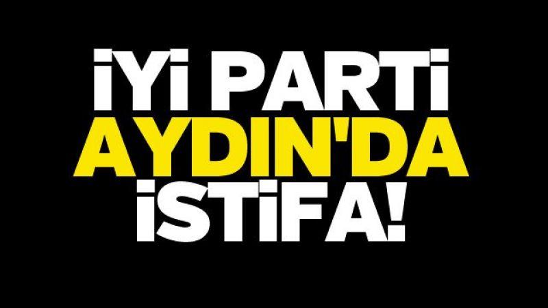 İYİ Parti Aydın'da istifa!