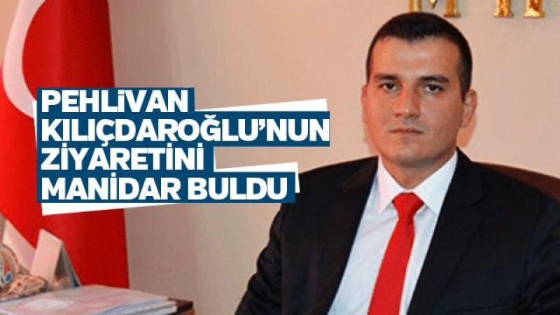 Pehlivan Kılıçdaroğlu'nun ziyaretini manidar buldu