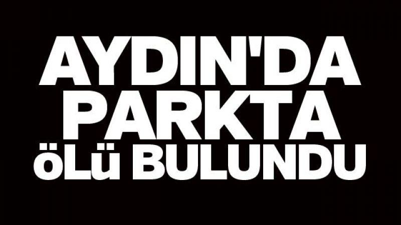 Aydın'da parkta ölü bulundu