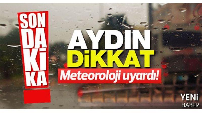 Aydın'a yağış geliyor