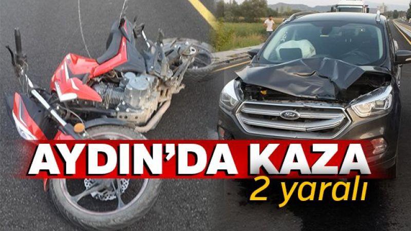 Germencik'te trafik kazası: 2 yaralı