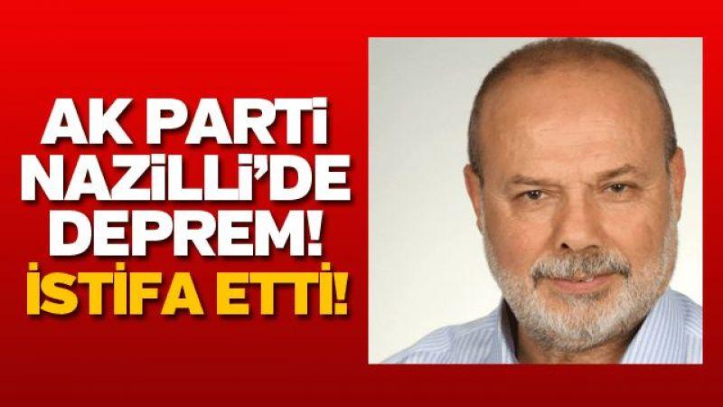 AK PARTİ NAZİLLİ'DE DEPREM!