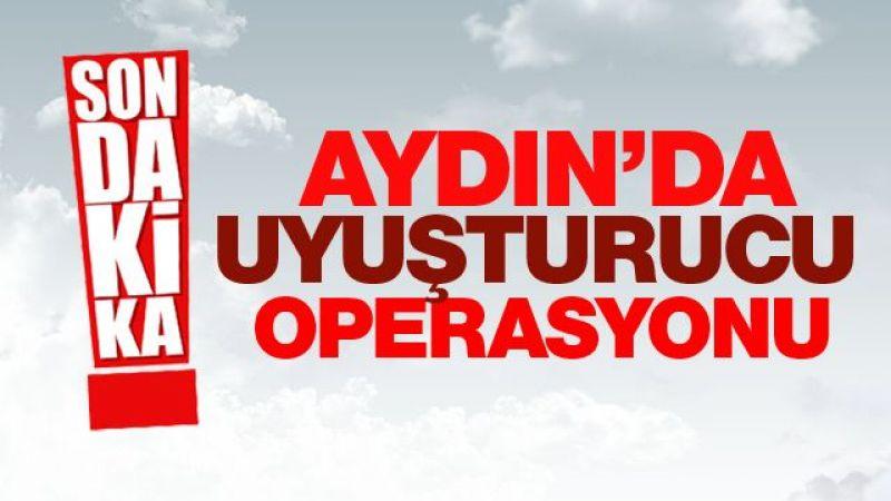 Aydın'da uyuşturucu operaysonu