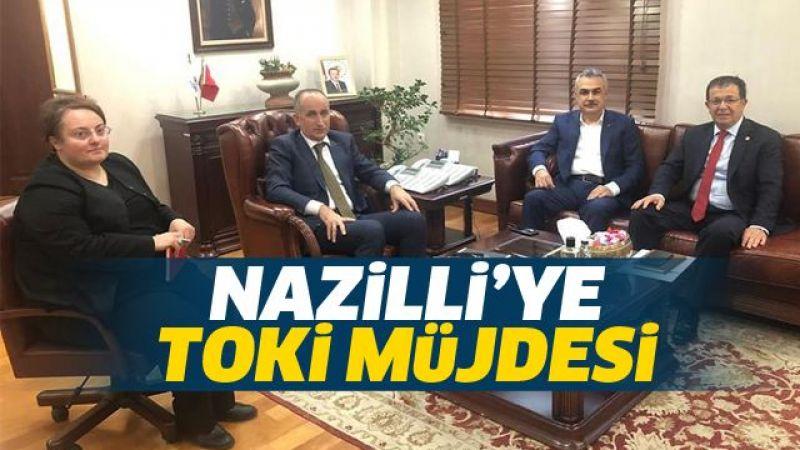 Nazilli'ye TOKİ müjdesi!