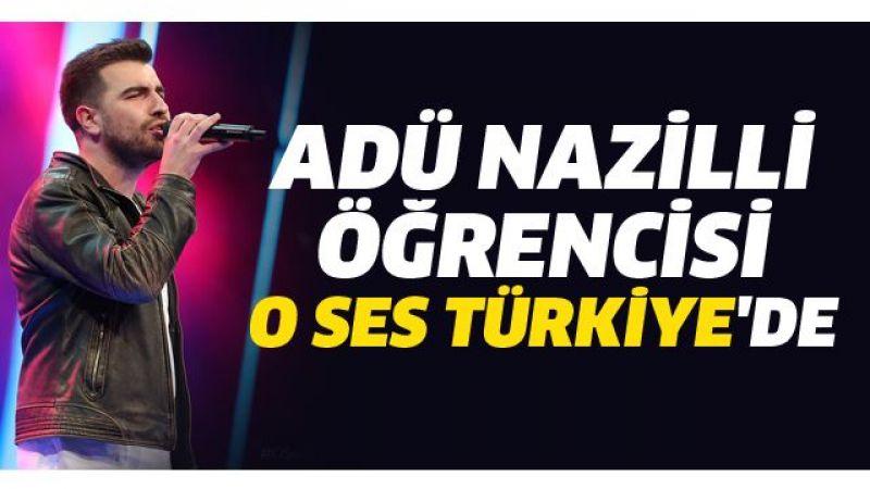 ADÜ öğrencisi O Ses Türkiye'de