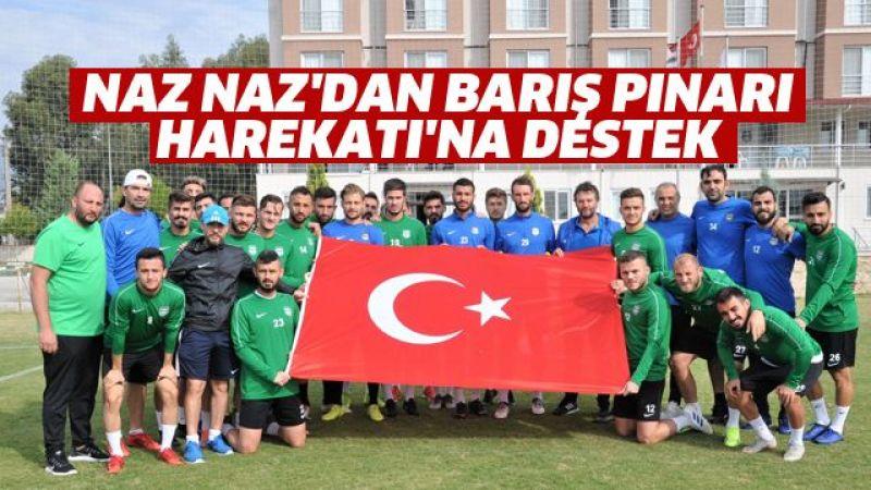 Naz Naz'dan Barış Pınarı Harekatı'na destek