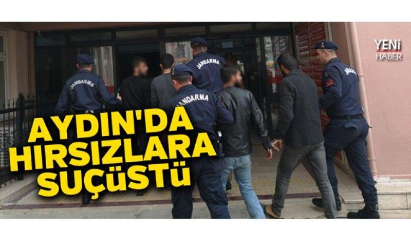 Aydın'da hırsızlara suçüstü
