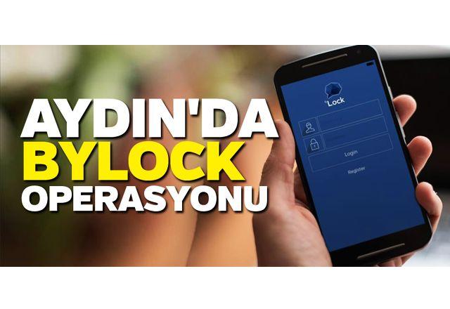 Aydın'da ByLock operasyonu