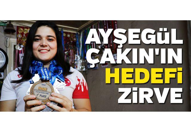 Ayşegül Çakın'ın hedefi olimpiyatlarda zirve