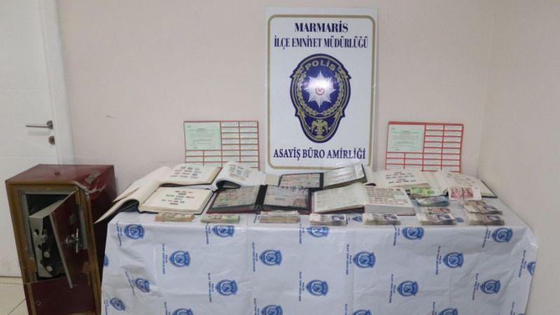 Muğla'da iki villadan kasa hırsızlığı yapan 4 şüpheli yakalandı