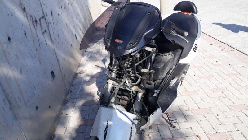 Motosikletin devrildiği kazada polis memuru hayatını kaybetti