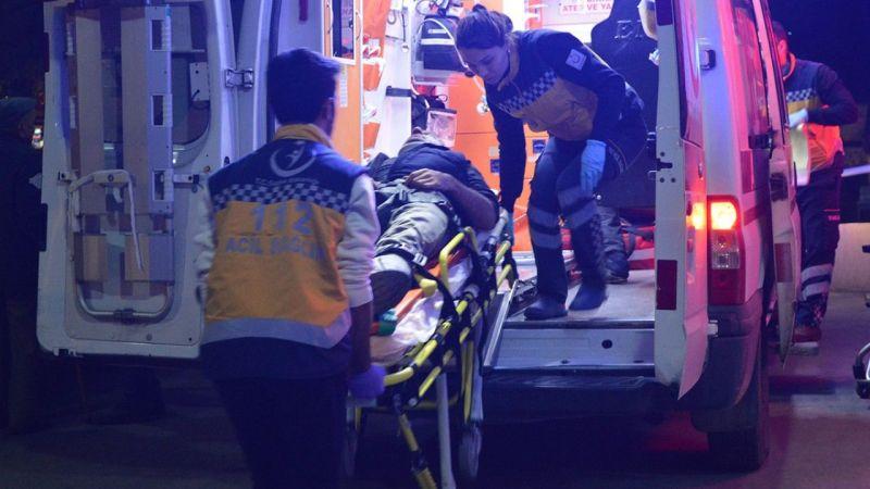 Aydın'da fıstık ağacından düşen kişi yaralandı