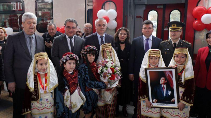 Atatürk'ün Aydın'a gelişinin 89. yıl dönümü kutlandı