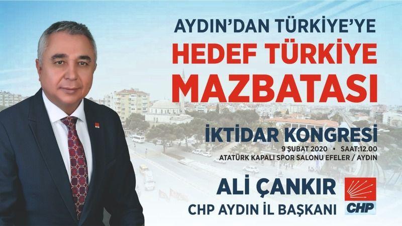 CHP Aydın'da kongre heyecanı başladı
