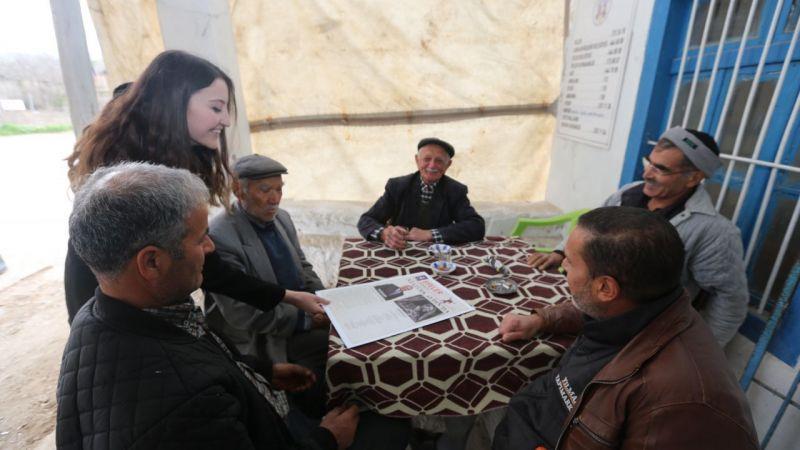 Efeler Belediyesi'nden Atatürk'e Özel Gazete