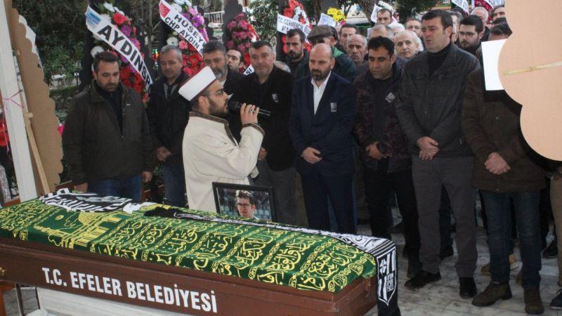 Aydın'da vefat eden gazeteci toprağa verildi