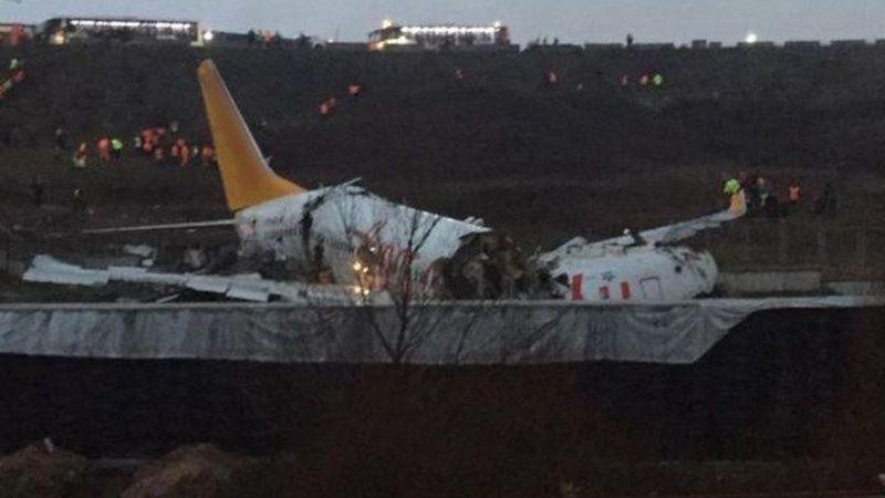 Sabiha Gökçen'deki uçak kazasında 3 yolcu hayatını kaybetti