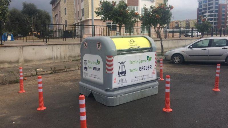 Efeler'de Çöp Konteynerları Yenileniyor