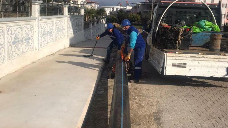 Aydın Büyükşehir Didim'de çalışıyor