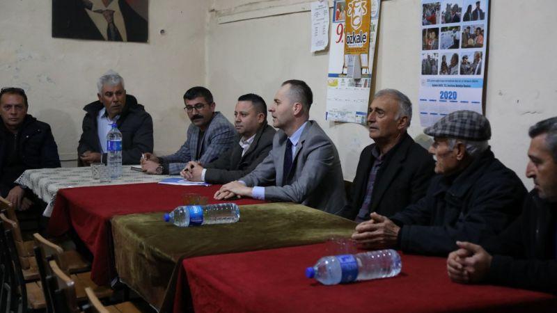 Aydın Büyükşehir Belediyesi İncirliova'da vatandaşlarla buluştu