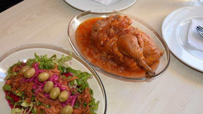"""Germencik'in meşhur """"ekşili tavuk"""" yemeği için patent başvurusu yapıldı"""