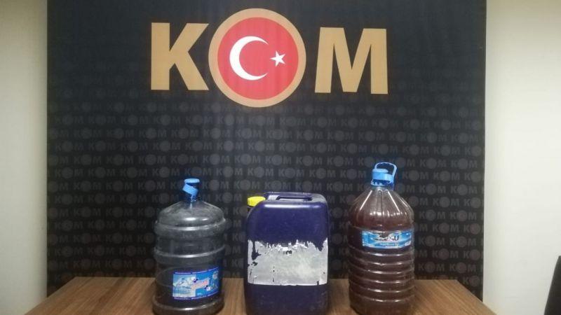 Nazilli'de kaçak içki operasyonu