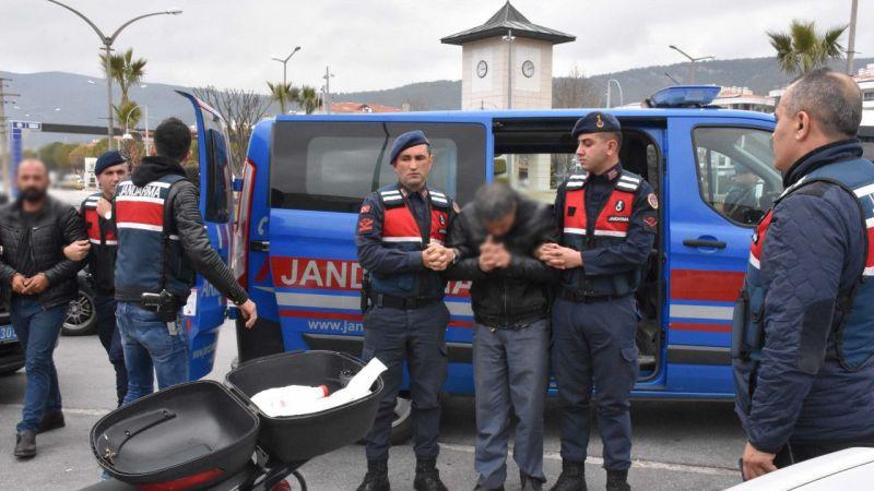 Aydın'da yakalanan 4 cinayet şüphelisi adliyeye sevk edildi