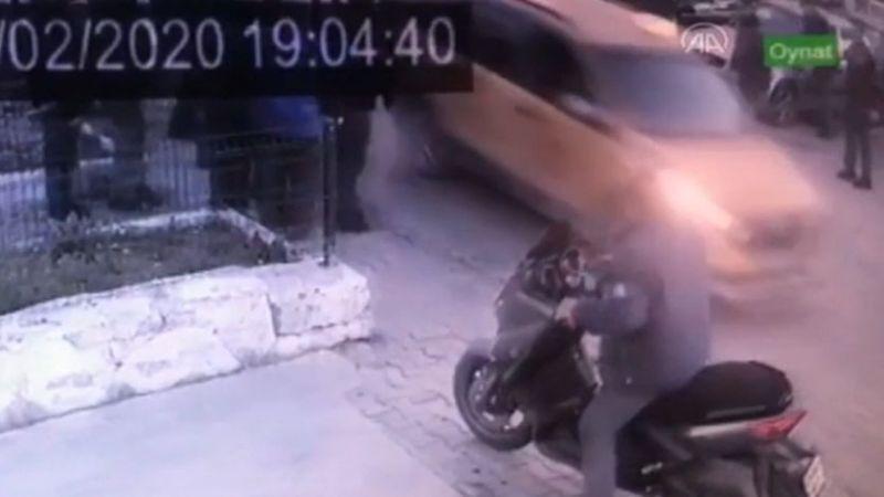 Aydın'da taksici dehşet yaşattı