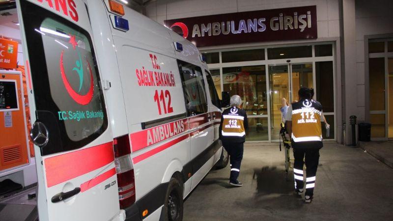 Nazilli'de kaza 3 yaşındaki oğluyla yaralandı