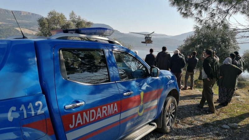 Aydın'da baraj gölünde kaybolan kişiyi arama çalışmaları sürüyor