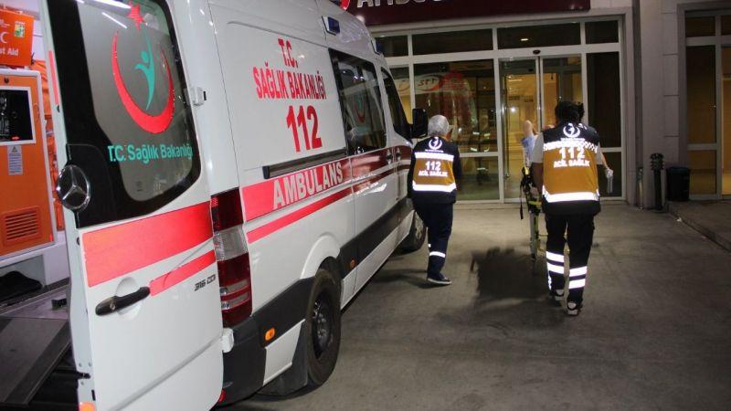 Kuşadası'nda iki otomobil çarpıştı: 1 ölü, 5 yaralı