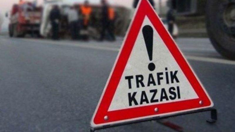 Söke'de trafik kazası 1 yaralı