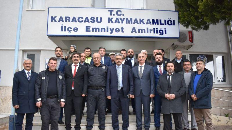 Alıcık'tan Karacasu ziyareti