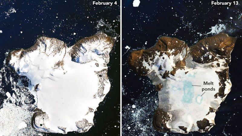 NASA görüntüleri yayınladı