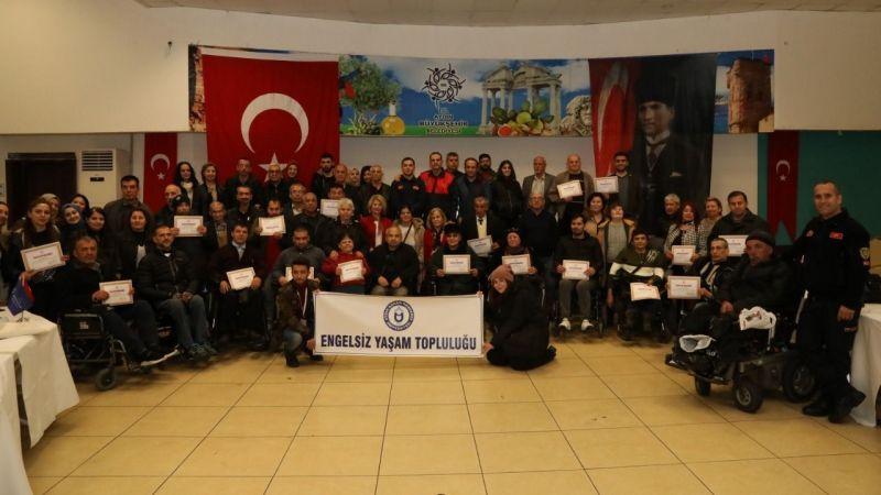 Aydın Büyükşehir Belediyesi'nden engellilere deprem eğitimi