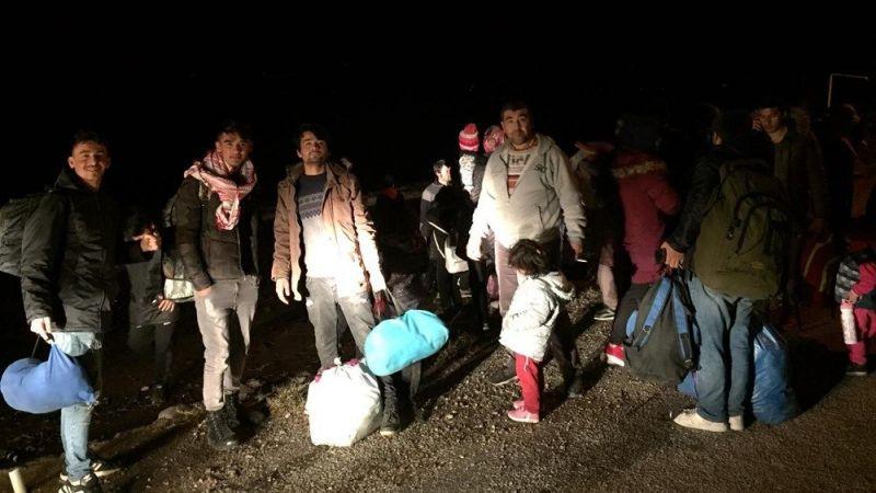 Aydın'da düzensiz göçmen hareketliliği arttı
