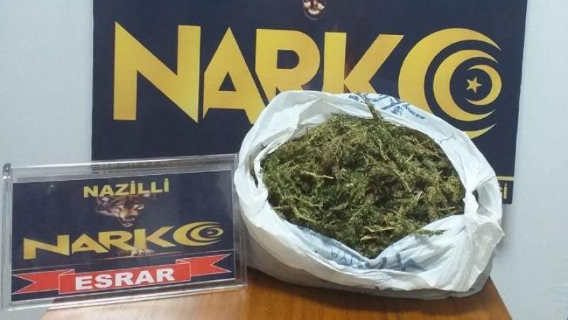 Nazilli'de uyuşturucuyla yakalandılar