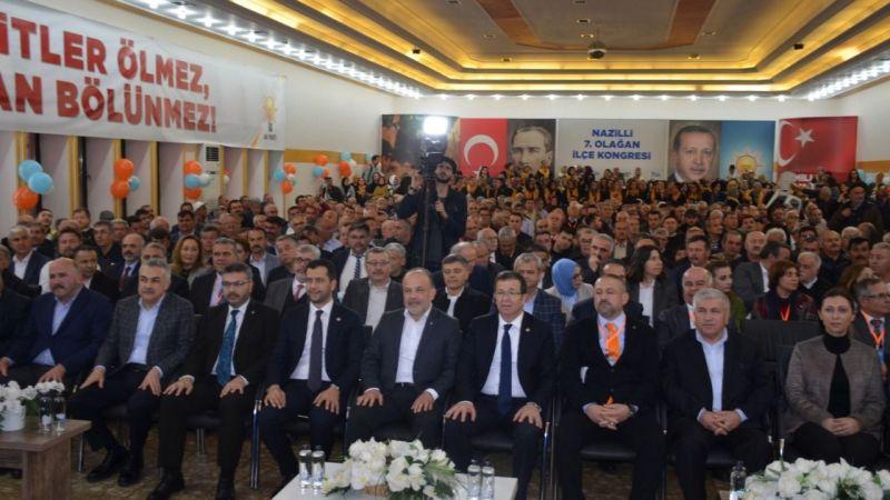 AK Parti Nazilli'de Abak yeniden başkan