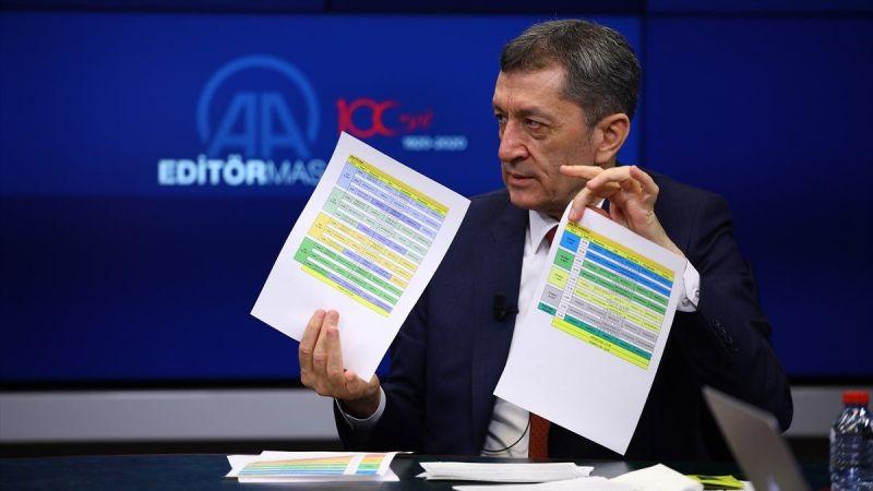 Milli Eğitim Bakanı Selçuk uzaktan eğitim programını açıkladı