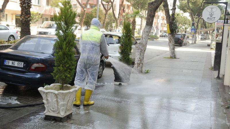 Nazilli'de virüs temizliği