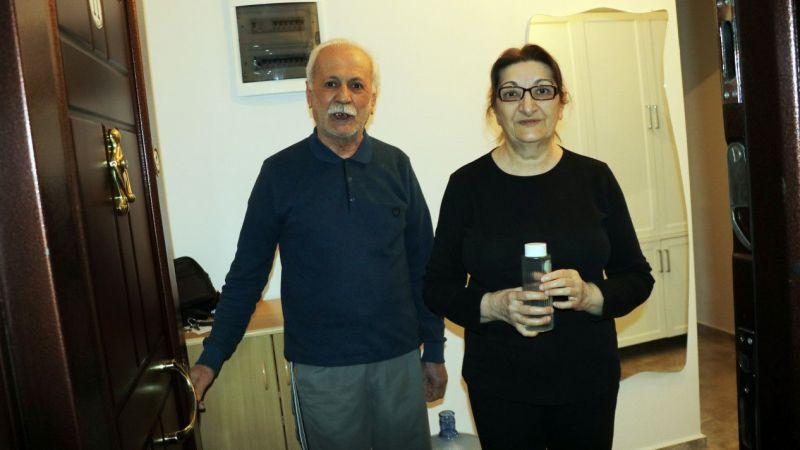 Aydınlı yaşlı çiftten ihtiyaçlarını karşılayan görevlileri duygulandıran teşekkür notu