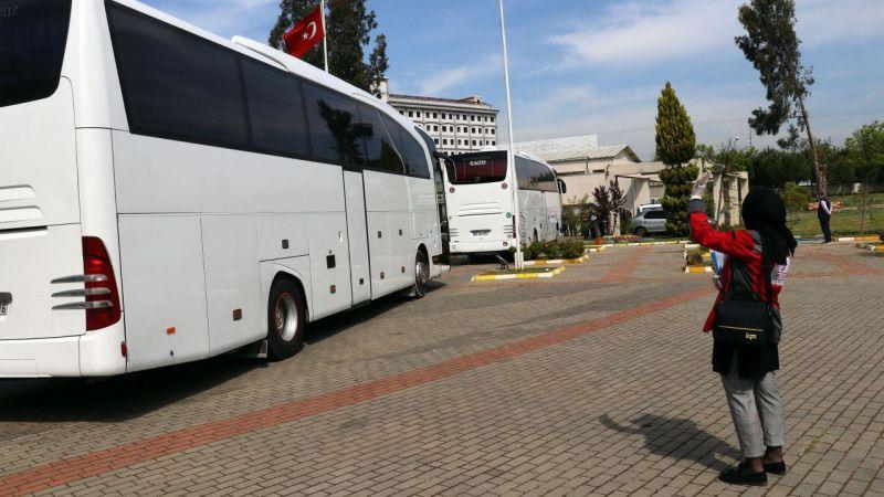 Cezayir'den gelen Türk vatandaşlarının Aydın'daki karantina süresi tamamlandı