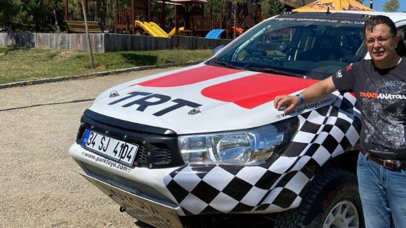 Aydın milletvekili Bekir Kuvvet Erim TRT brandingi ile parkura çıkacak.