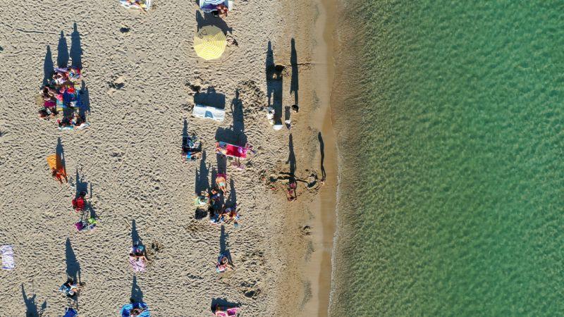 Kuşadası ve Didim sahillerinde yoğunluk