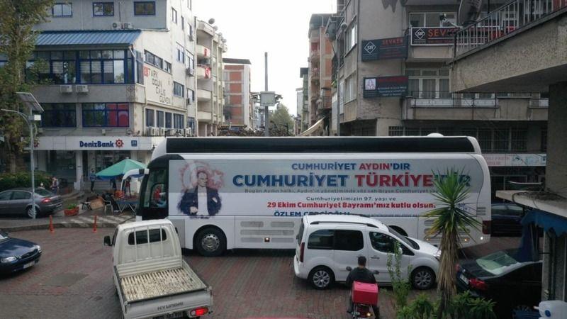 Aydın'da Cumhuriyet coşkusu
