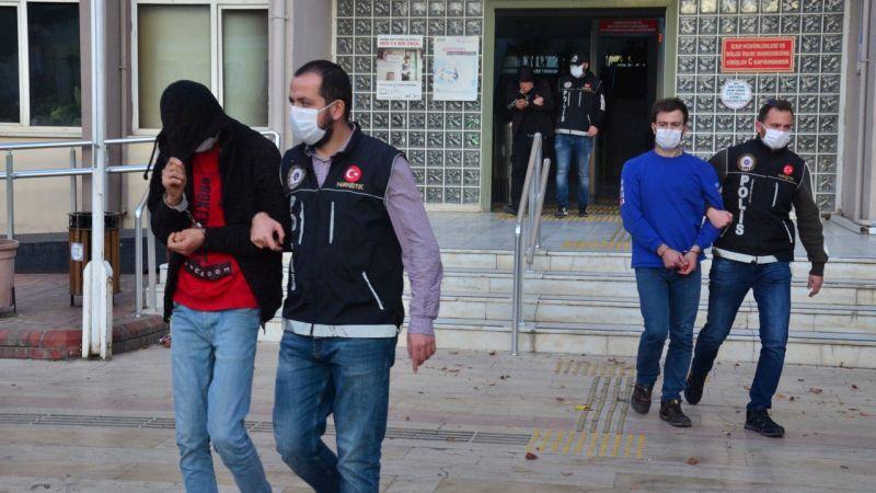 Aydın'daki uyuşturucu operasyonunda 3 tutuklama